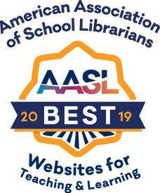 American Association of School Librarians - AASL - Best websites for teaching and learning 2019 (hyperlinked icon)