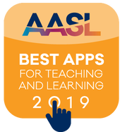 AASL - Best apps for teaching and learning 2019 (hyperlinked icon)