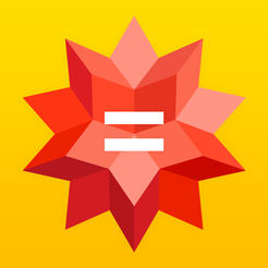 Wolfram Alpha (hyperlinked icon)